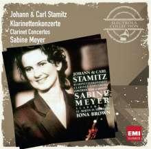 Carl Stamitz (1745-1801): Klarinettenkonzerte Nr.3,10,11, CD