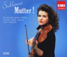Anne-Sophie Mutter - Sublime Mutter!, 3 CDs