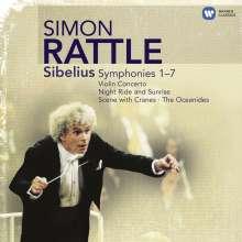 Jean Sibelius (1865-1957): Symphonien Nr.1-7, 5 CDs