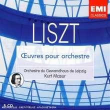 Franz Liszt (1811-1886): Orchesterwerke, 5 CDs