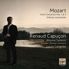 Wolfgang Amadeus Mozart (1756-1791): Violinkonzerte Nr.1 & 3, CD