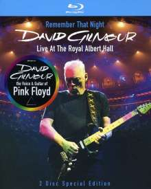 David Gilmour: Remember That Night - Live At The Royal Albert Hall 2006, 2 Blu-ray Discs