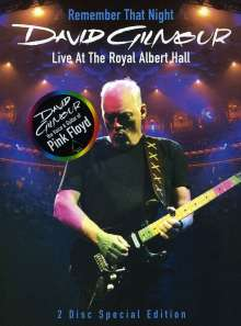 David Gilmour: Remember That Night - Live At The Royal Albert Hall 2006, 2 DVDs