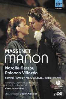 Jules Massenet (1842-1912): Manon, 2 DVDs