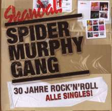 Spider Murphy Gang: Skandal: 30 Jahre Rock'n'Roll - Alle Singles, 2 CDs
