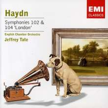 Joseph Haydn (1732-1809): Symphonien Nr.102 & 104, CD