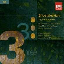 Dmitri Schostakowitsch (1906-1975): The Concerto Album, 3 CDs