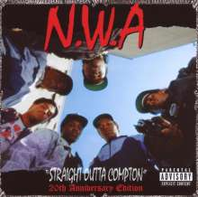 N.W.A: Straight Outta Compton (20th-Anniversary-Edition), CD