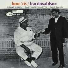 Lou Donaldson (geb. 1926): Here 'Tis (Rudy Van Gelder Remasters), CD