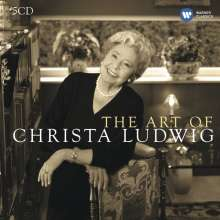 Christa Ludwig - The Art of, 5 CDs
