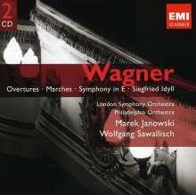 Richard Wagner (1813-1883): Symphonie E-dur, 2 CDs