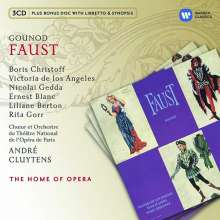 "Charles Gounod (1818-1893): Faust (""Margarethe""), 3 CDs"