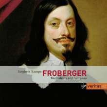 "Johann Jacob Froberger (1616-1667): Cembalowerke ""Meditations & Fantasias"", 2 CDs"