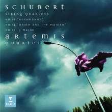 Franz Schubert (1797-1828): Streichquartette Nr.13-15, 2 CDs