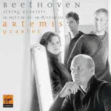 Ludwig van Beethoven (1770-1827): Sämtliche Streichquartette Vol.3 (Artemis-Quartett), 2 CDs