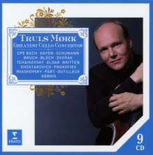 Truls Mork - Great Cello Concertos, 9 CDs