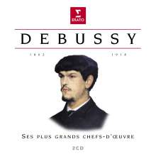 Claude Debussy (1862-1918): Claude Debussy - Ses Plus Grand Chefs-D'Oeuvre, 2 CDs