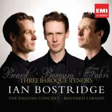 Ian Bostridge - Three Baroque Tenors, CD