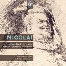 Otto Nicolai (1810-1849): Symphonie D-dur, 2 CDs