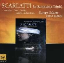 Alessandro Scarlatti (1660-1725): La Santissima Trinita, CD