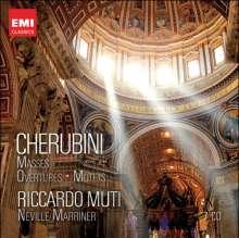 Luigi Cherubini (1760-1842): Messen,Motetten,Ouvertüren, 7 CDs