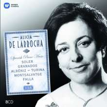 Alicia de Larrocha - Spanish Piano Music (Icon Series), 8 CDs
