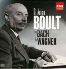 Adrian Boult - From Bach to Wagner, 11 CDs