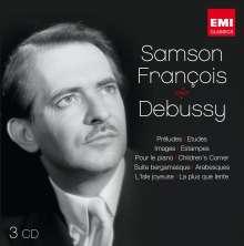 Claude Debussy (1862-1918): Klavierwerke, 3 CDs