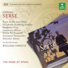 Georg Friedrich Händel (1685-1759): Xerxes, 3 CDs