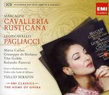 Ruggero Leoncavallo (1857-1919): Pagliacci, 2 CDs