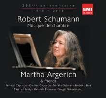 Martha Argerich & Friends - Klavier- & Kammermusik von Schumann, 3 CDs
