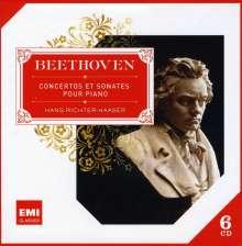Ludwig van Beethoven (1770-1827): Klavierkonzerte Nr.3-5, 6 CDs