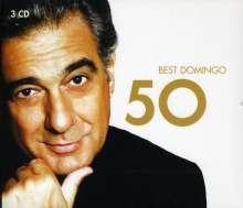 Placido Domingo - 50 Best, 3 CDs