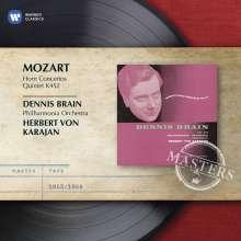 Wolfgang Amadeus Mozart (1756-1791): Hornkonzerte Nr.1-4, CD