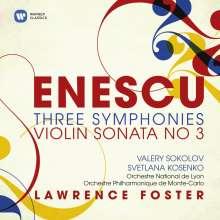 George Enescu (1881-1955): Symphonien Nr.1-3, 2 CDs