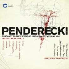 Krzysztof Penderecki (geb. 1933): Symphonie Nr.1, 2 CDs