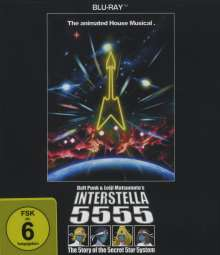Daft Punk: Interstella 5555, Blu-ray Disc