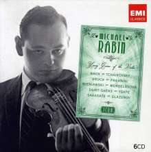 Michael Rabin - Young Genius of the Violin (Icon Series), 6 CDs