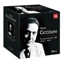 Aldo Ciccolini - Complete EMI Recordings 1950-1991, 56 CDs