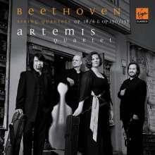 Ludwig van Beethoven (1770-1827): Sämtliche Streichquartette Vol.4 (Artemis-Quartett), CD