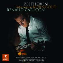 Renaud Capucon - Violinkonzerte von Beethoven & Korngold, CD