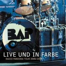 BAP: Live und in Farbe: Radio Pandora-Tour 2008/2009, 3 CDs