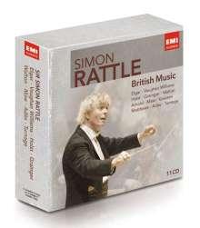 Simon Rattle - British Music, 11 CDs