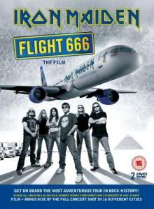 Iron Maiden: Flight 666: The Film (Limited Edition), 2 DVDs