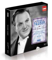 Richard Tauber - The Gentleman Tenor (Icon Series), 5 CDs