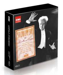 Leopold Stokowski - The Maverick Conductor (Icon Series), 10 CDs