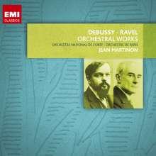 Jean Martinon dirigiert Ravel & Debussy, 8 CDs