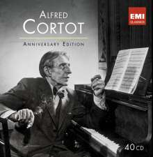 Alfred Cortot - The Anniversary Edition, 40 CDs