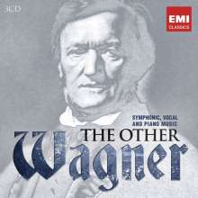 Richard Wagner (1813-1883): Richard Wagner - The Other Wagner (Symphonic,Vocal and Piano Music), 3 CDs