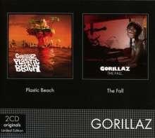 Gorillaz: Plastic Beach/The Fall (Limited Edition), 2 CDs